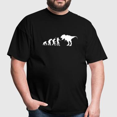 Evolution Dinosaur - Men's T-Shirt