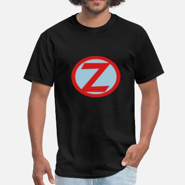 Initial Z Super, Hero, Heroine, Initials, Super Z - Men's T-Shirt
