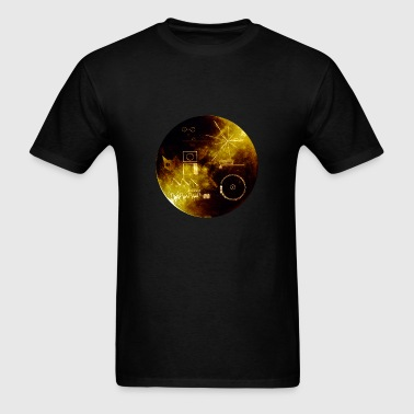 voyager gold record - Men's T-Shirt
