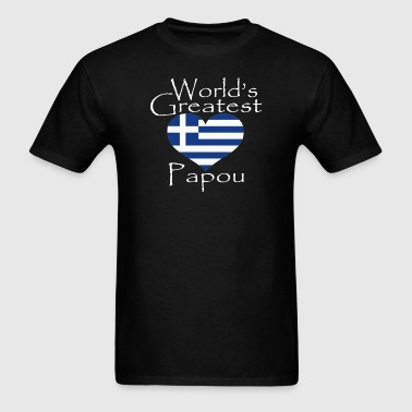 worlds-greatest-papou.png - Men's T-Shirt