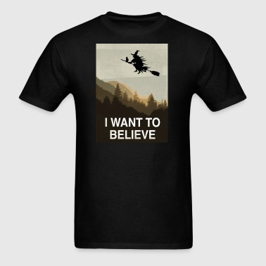 Halloween: I want to believe - Men's T-Shirt