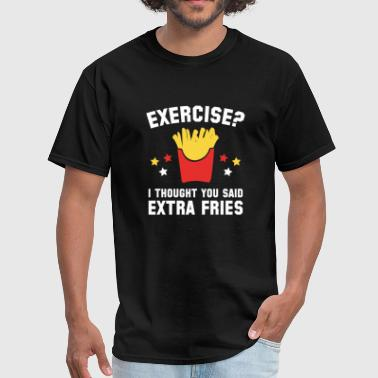 Exercise? - Men's T-Shirt