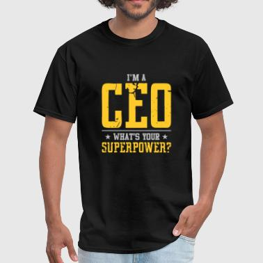Teacher - i'm a ceo what's your superpower - Men's T-Shirt