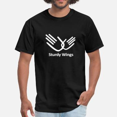 Wings sturdy wings - Men's T-Shirt