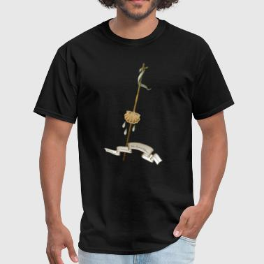 ST. JOHN THE BAPTIST SYMBOL - Men's T-Shirt
