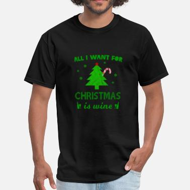 Wine Xmas Christmas Wine - Xmas Present - Men's T-Shirt