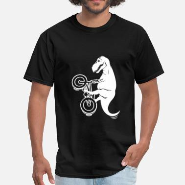 Bmx Jokes T-rex BMX Freestyle - Men's T-Shirt