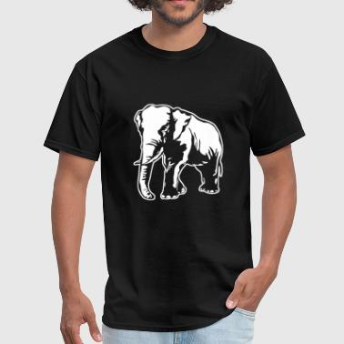 African Savannah & African Elephant - Men's T-Shirt