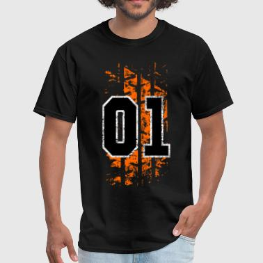 general lee tire mark - Men's T-Shirt