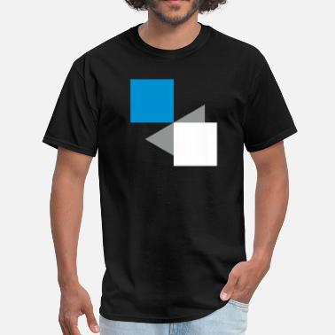 Rectangle Squares Rectangles Abstract 3c - Men's T-Shirt