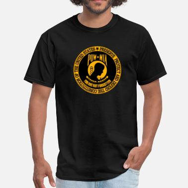 Prisoner Of War You Are Not Forgotten - Men's T-Shirt