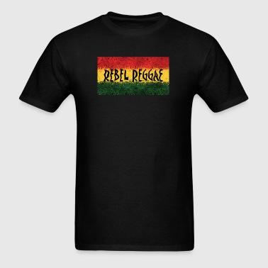 Rebel Reggae - Men's T-Shirt