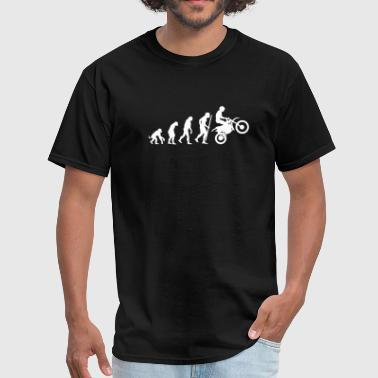 Monkey Motorcycles Evolution of Motorcycling - Men's T-Shirt
