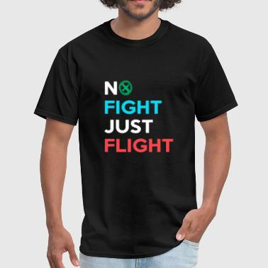 Medieval - no fight just flight | fight against - Men's T-Shirt