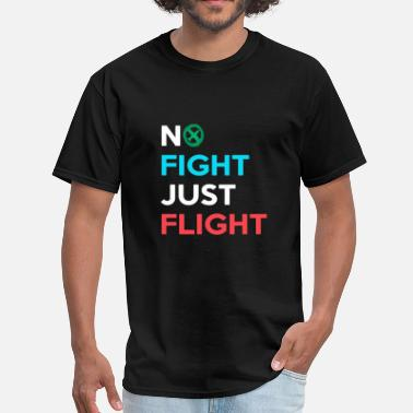 Wizards And Warriors Medieval - no fight just flight | fight against - Men's T-Shirt