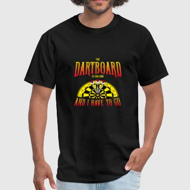Pdc The Dartboard is calling - Men's T-Shirt