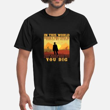 Western Movie Wild West Western Movie Cowboy Bandit Gift - Men's T-Shirt