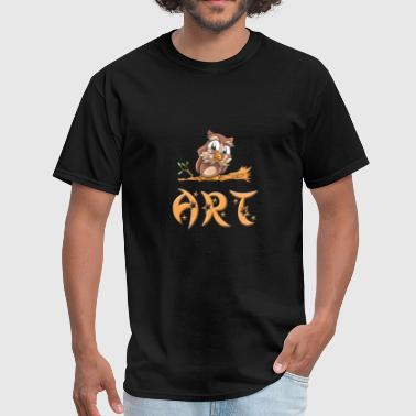 Art Owl - Men's T-Shirt