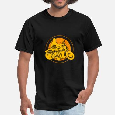 Motorcycle Dad Motorcycle Dad - Men's T-Shirt
