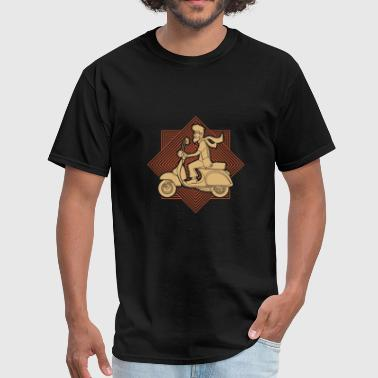 Scooter - scooter rider - Men's T-Shirt