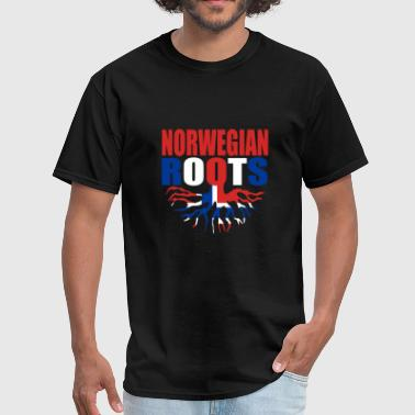 Norway - storecastle norwegian roots norway prid - Men's T-Shirt