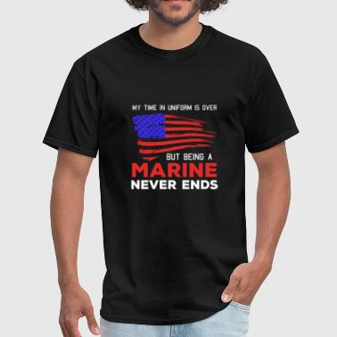 Veteran - marine corps - armed forces marine ve - Men's T-Shirt