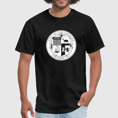 Seal of Los Angeles - Men's T-Shirt