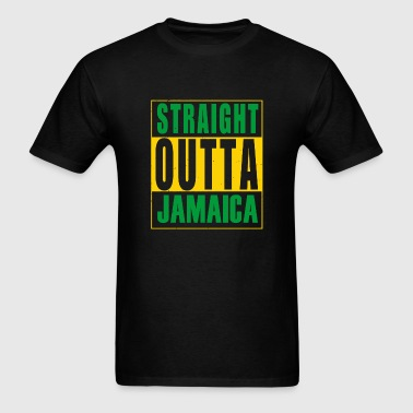 Straight outta - straight outta jamaica - Men's T-Shirt