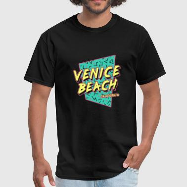 San diego - venice beach california 80s souveni - Men's T-Shirt
