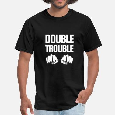 Double Fist Double Trouble - Men's T-Shirt