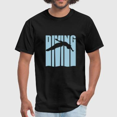 springboard diving - Men's T-Shirt