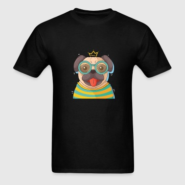 Dog in glass - Men's T-Shirt