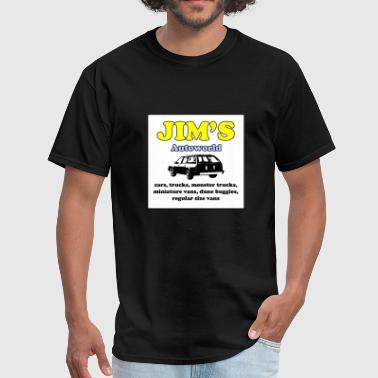 Moriarty Jim's Autoworld - Men's T-Shirt
