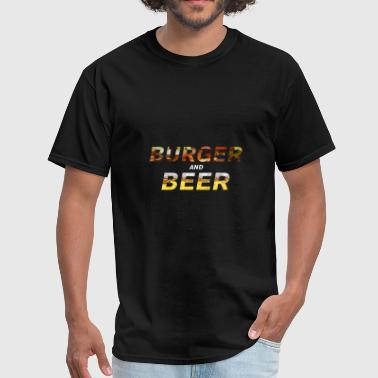 Burger And Beer - Men's T-Shirt
