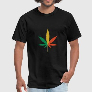 Weed Tricolors - Men's T-Shirt