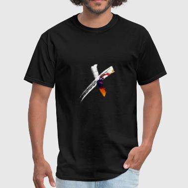 Malcolm X X - Men's T-Shirt