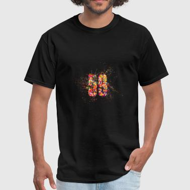 Age Number Number 59 Age Count - Men's T-Shirt