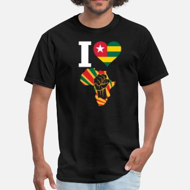 Togo Togo Black Power - Men's T-Shirt