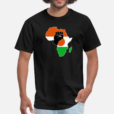 Niger Flag NIGER FLAG - Men's T-Shirt