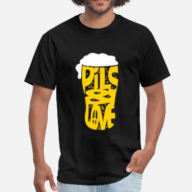 Pils Pils and love flex - Men's T-Shirt