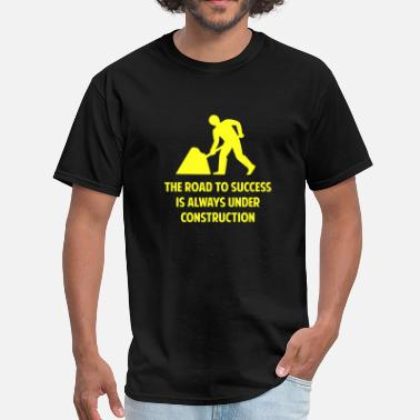 Road Safety The Road To Success - Men's T-Shirt