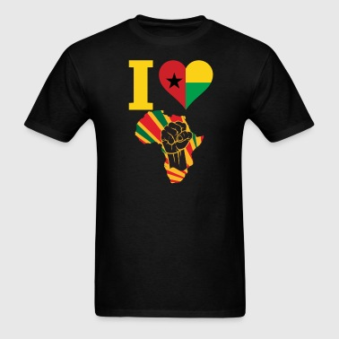 Guinea Bissau Black Power - Men's T-Shirt