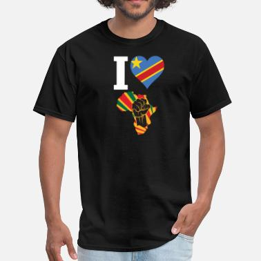 Congo Congo Black Power - Men's T-Shirt