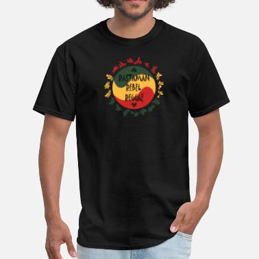 Rebel Reggae rastaman rebel reggae - Men's T-Shirt
