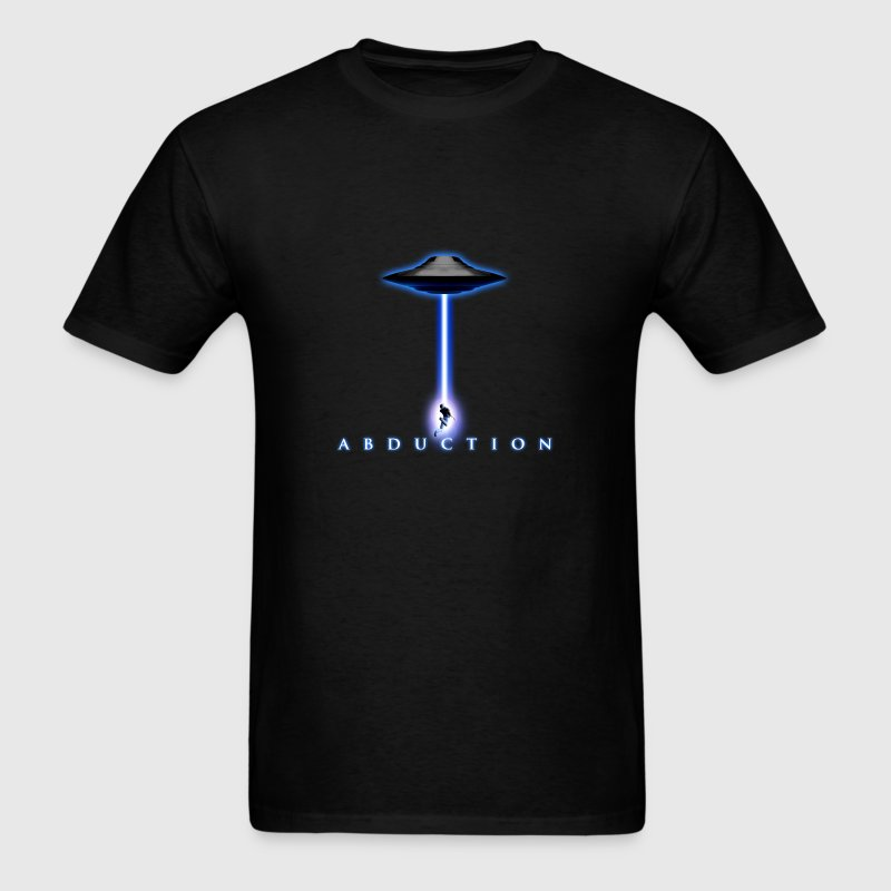 UFO Abduction 3D - Men's T-Shirt