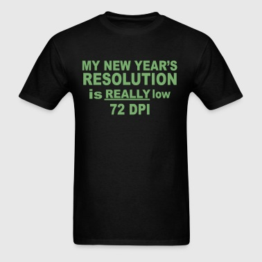 Low Resolution - Men's T-Shirt