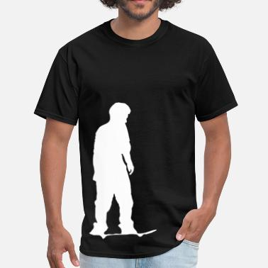 Best Skate Skate Board - Skate Silhouette - Men's T-Shirt