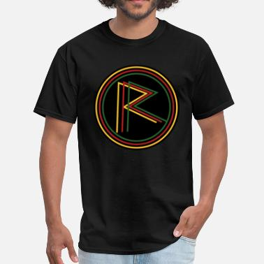 Rebel Reggae Rasta Reggae Rebel - Men's T-Shirt