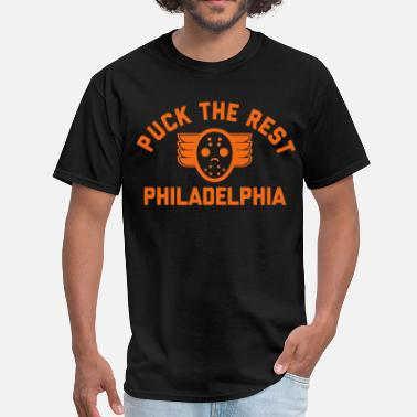 Fightin For Philly Puck the Rest Philly - Men's T-Shirt