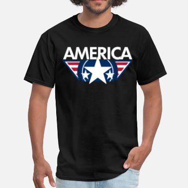 Design America star design - Men's T-Shirt